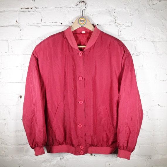 Vintage 90s Silk Blouson Size S