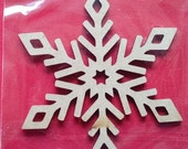 Create Christmas Wooden Shapes DIY Decorate Yourself Snowflakes Wreaths Gingerbreadman Nutcracker Stocking Craft It Paint It Glitter IT