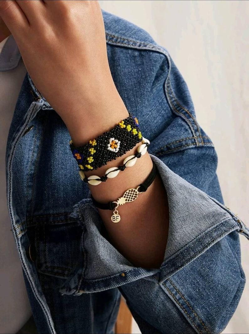 Set of 3 Friendship Bracelets