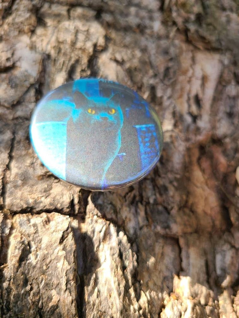 Pet Semetary Church 1.5 in Jacket Pin or Fridge Magnet