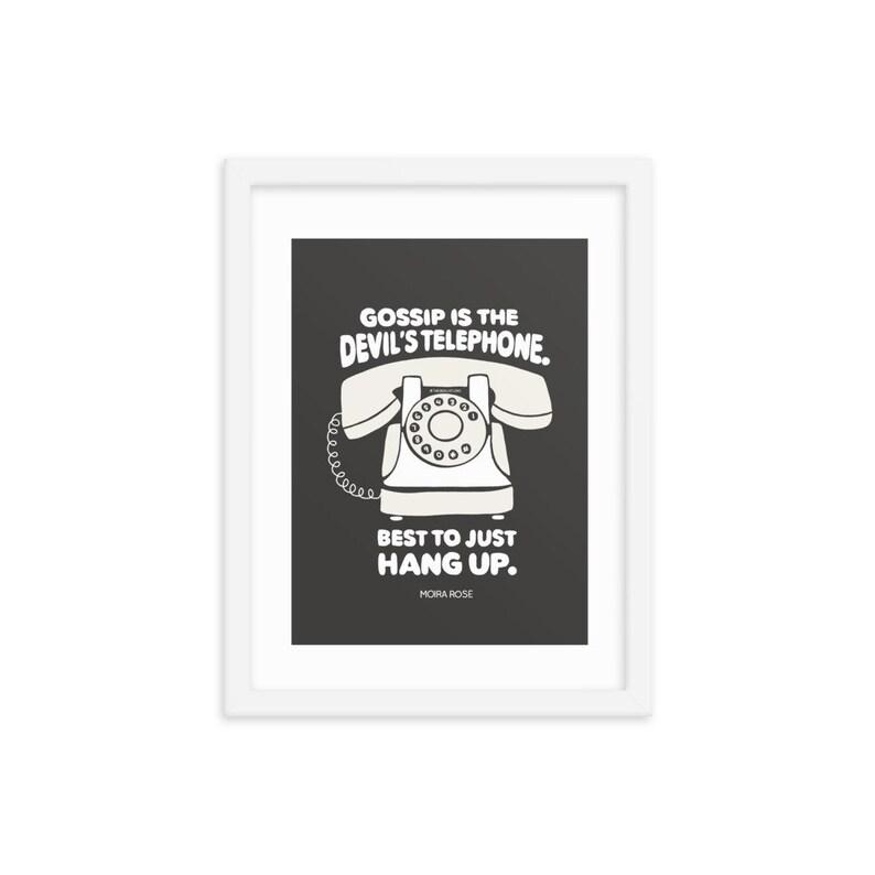 Devil/'s Telephone Framed poster