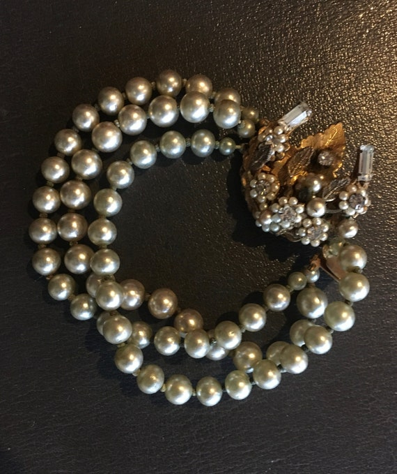 Eugene pearl bracelet
