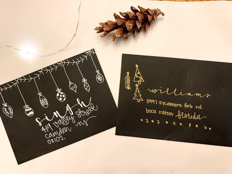 Hand Addressed Envelopes