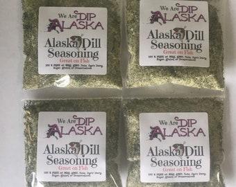 4 pack Alaska Dill Seasoning