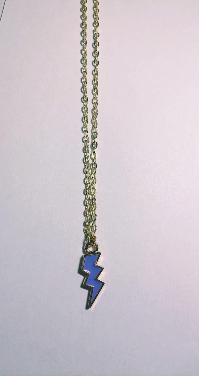 Lightning bolt necklace