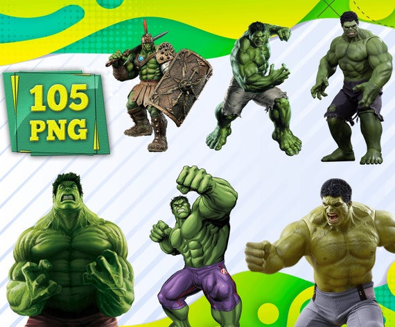 Hulk Cliparts Hulk Png Files The Incredible Hulk Pictures Etsy