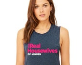 The REAL HOUSEWIVES Inspired Muscle Tank Personalized City Tank Top Bravo Favorite Women 39 s Tank Top
