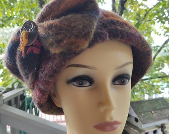 Hat felted Wool