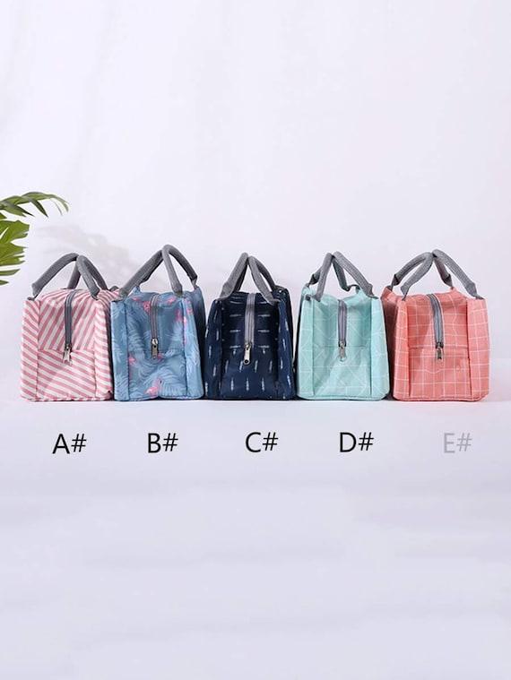 1pc Light-weight Lunch Box Insulation Bag - #D