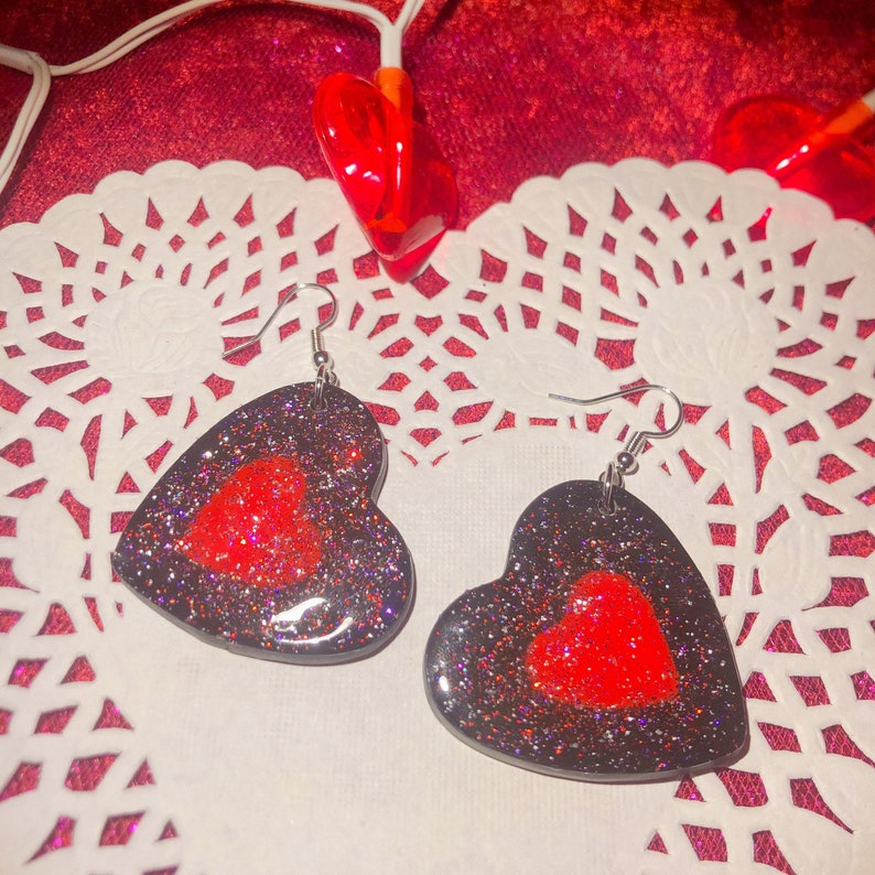 Valentines Day Powerpuff Girls Heart Handmade Jewlery