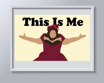 The Greatest Showman Poster, This Is Me, Bearded Lady, Lettie Lutz, Keala Settle