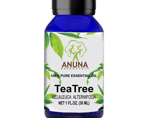 Anuna TEA TREE essential oil 100% pure, natural and undiluted, A smoothing agent for antibacterial protection for both Skin and Hair (30ML)
