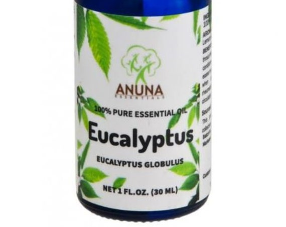 Anuna Eucalyptus Essential Oil - 100% Pure, Natural and Undiluted, 30 ml (1 oz)