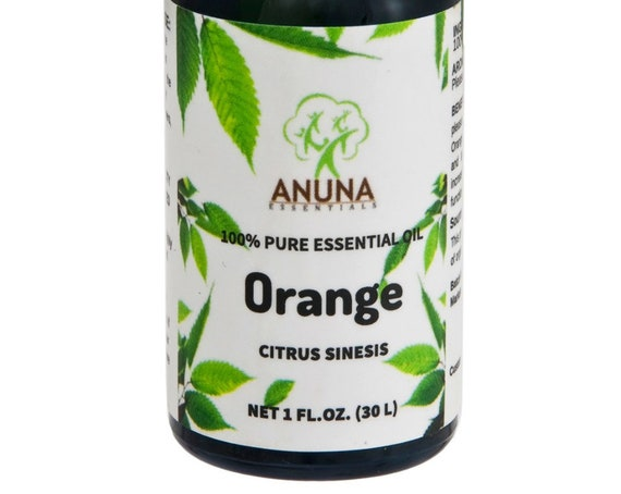 Anuna Orange Essential Oil - 100% Pure, Natural and Undiluted, 30 ml (1 oz)