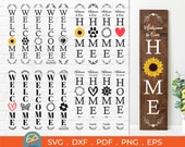 18 Porch Sign svg Bundle, Welcome svg, Welcome Porch Sign Svg, welcome to your home svg, wedding sign svg, welcome vertical svg cut files