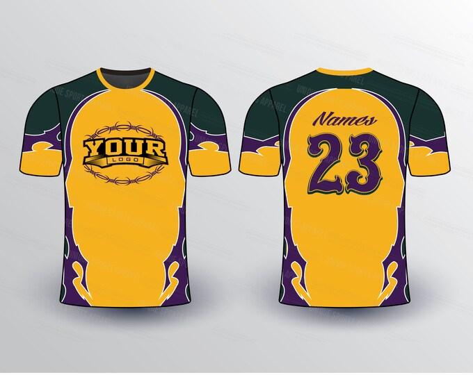 Tribal Theme Sports Jersey Mockup