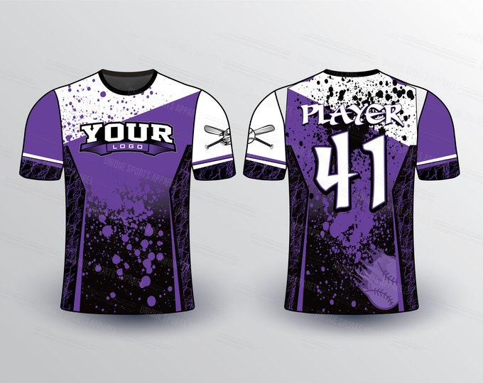 Color Splash Sports Jersey Mockup