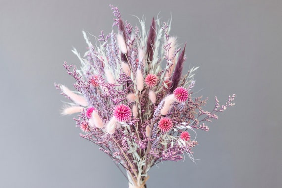 Spring Time, dried flowers, dried flower bouquet, bouquet, bouquet, dried flowers, flower window, purple, pink, rose, green