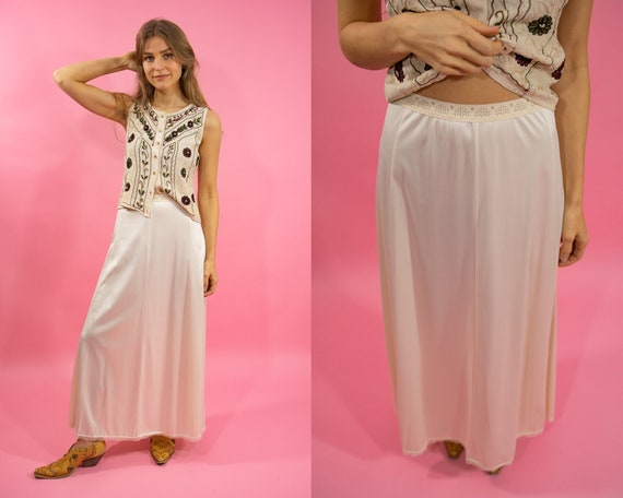 Vintage Kayser Lingerie Skirt Slip//Vintage Neglig
