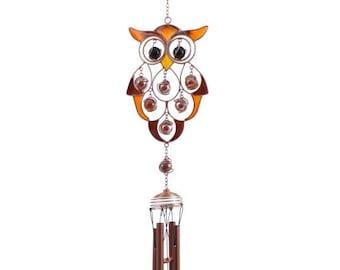 Owl Wind Chimes Etsy