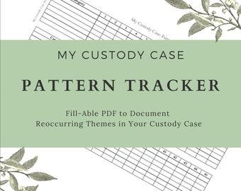 Custody Case Pattern Tracker