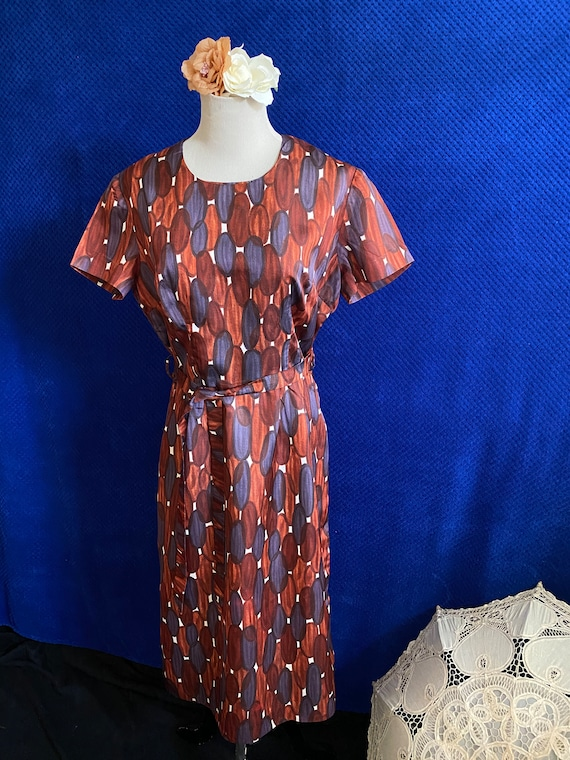 Vintage 1950s early 1960s pencil dress Wiggle dres