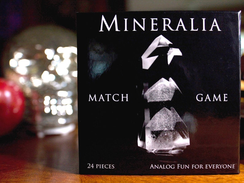 Mineralia: Match Game. Amazing minerals inspire adults & kids image 0