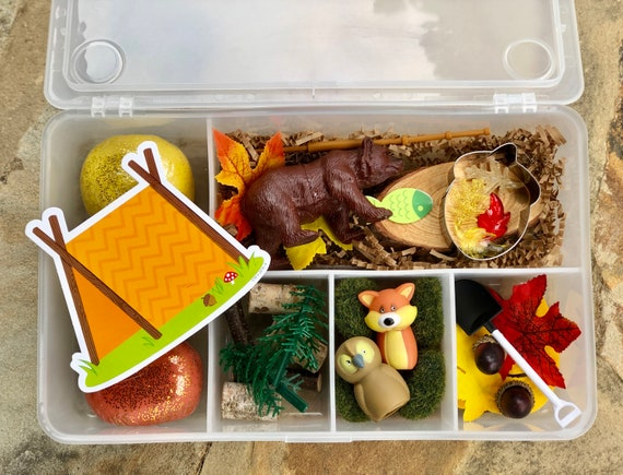 Great Outdoors FALL Box / Playdough / Sensory Dough / Playdoh
