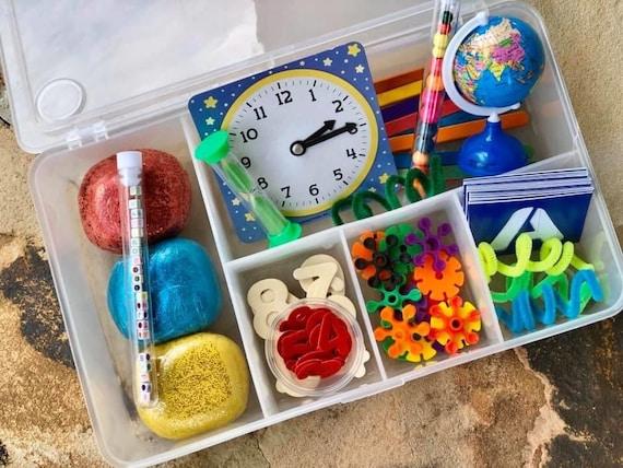 Deluxe Back to School Box / Playdough / Sensory Dough
