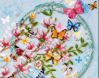 FREE Shipping needlepoint beading beaded painting set DIY Bead embroidery kit Stepping out with Class and Sass room wall decor