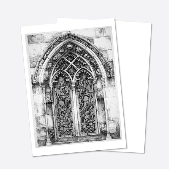 Rosslyn Chapel Rosslyn Greeting Card Scotland