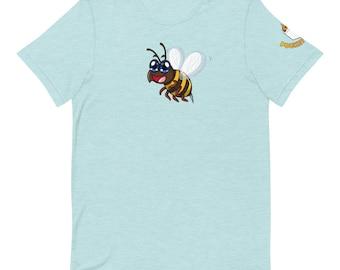 Cute Bee Short-Sleeve Unisex T-Shirt