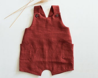 Charlie romper pdf sewing pattern - harem romper -baby jumpsuit-gender neutral - layered letter, A0, and projector files-boy rompe- overalls