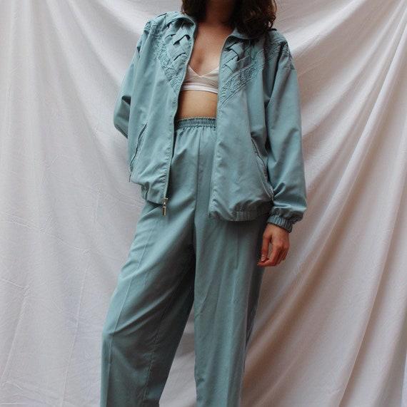 Baby Blur Vintage Track Suit