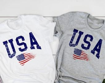 USA Youth Shirt USA kids Flag shirt Independence Day shirt America shirt USA gift shirt Patriotic Shirt 4th of July Shirt