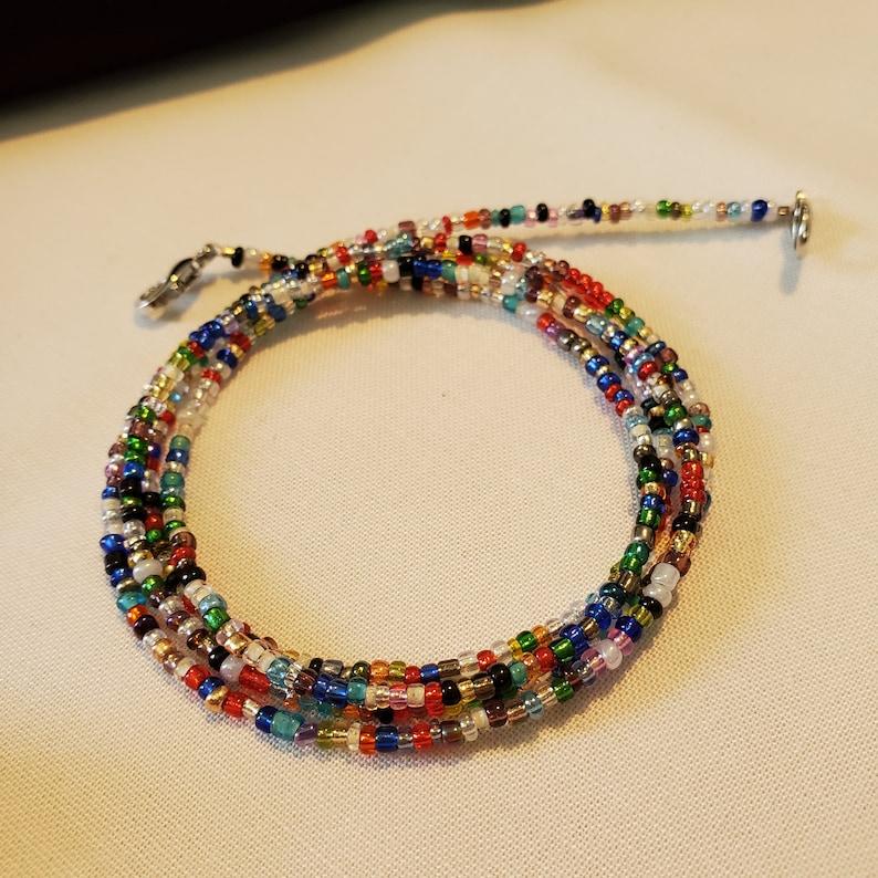Rainbow Mask Chain M06