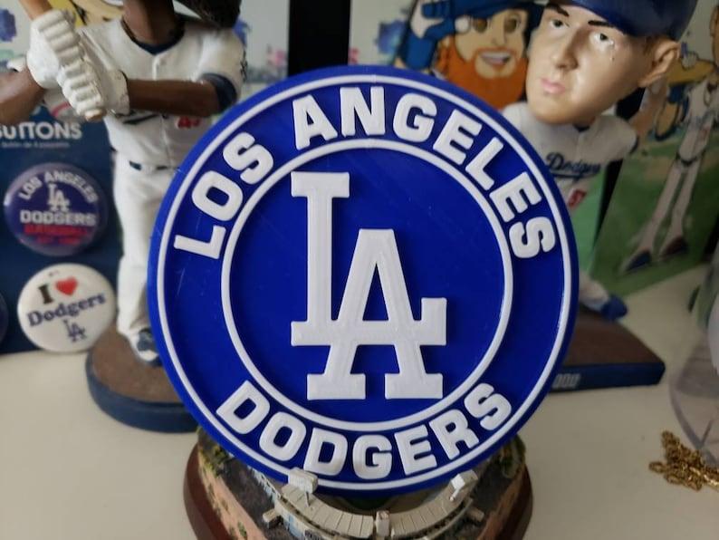 dodgers 3D printed Dodgers logo