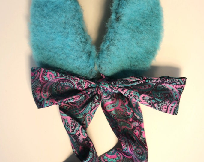 Faux fur collar Rabbit