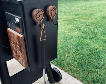 Magnetic Grill Hooks | Utensil Hooks | American Flag Hooks | Personalized Hooks | Birthday Gift | Groomsmen Gift | Gift for Dad