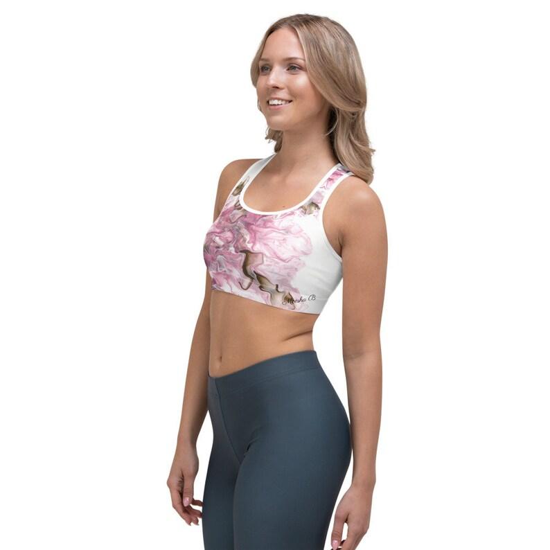 yoga pilates gym clothing Flaming Dragon Designer Sports bra athletic wear