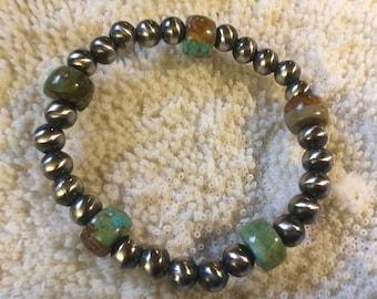 4 Winds Mother Earth Navajo Pearls Bracelet