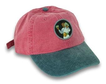Unisex Lets Cook Vintage Washed Dad Hat Cute Adjustable Baseball Cap