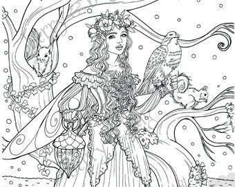 coloring page ~ flower fairies: King Cup by Cicely Mary Barker | Fairy  coloring, Fairy coloring pages, Alphabet coloring pages | 270x340