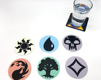 Classic Gaming Drink Coasters - Magic the Gathering Set of 6