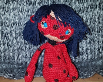 028 Amigurumi pattern. Kwami Tikki crochet toy. Cartoon Miraculous ... | 270x340