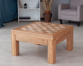 Coffee Table Chess Etsy
