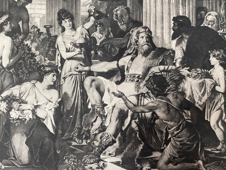 Alaric In Athens by Ludwig theirsch