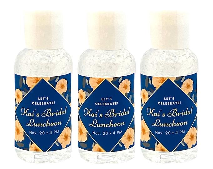 Bridal Shower Hand Sanitizers  Weddings  Bridal Showers  Engagement Parties