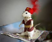Flying Carpet Ride Mouse Taxidermy | cute anthropomorphic mouse taxidermy | whimsical animal oddities & curiosities | OOAK by Eerily Beloved
