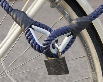 Bike Lock Bicycle Lock / 5 mm steel cable braided with plastic cable